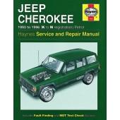 Haynes manual: Jeep Cherokee Petrol (93-96) K to N