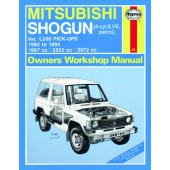 Haynes manual: Mitsubishi Shogun and L200 Pick-Ups Petrol (83-94) up to M