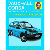 Haynes Vauxhall Corsa Petrol (Mar 93 - 97) K to R