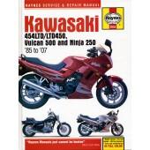 Haynes Kawasaki 454LTD/LTD450, Vulcan 500 & Ninja 250 (85
