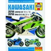Haynes manual: Kawasaki ZX750 (Ninja ZX-7 and ZXR750) Fours (89-96)