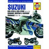 Haynes manual: Suzuki GSX-R750, GSX-R1100 (85-92), GSX600F, GSX750F, GSX1100F (Katana) Fours (88-96)
