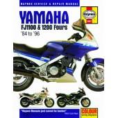Haynes manual: Yamaha FJ1100 and 1200 Fours (84-96)