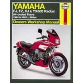 Haynes manual: Yamaha FJ, FZ, XJ and YX600 Radian (84-92)