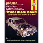 Haynes Cadillac Rear-wheel drive (70 - 93)