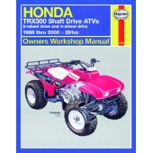Haynes Honda TRX300 Shaft Drive ATVs (88 - 00)