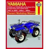 Haynes manual: Yamaha YFM350 and YFM400 (ER and Big Bear) ATVs (87-03)