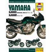Haynes manual: Yamaha XJ600S (Diversion, Seca II) & XJ600N Fours (92-03)
