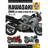 Haynes manual: Kawasaki ZX600 (Ninja ZX-6, ) Fours (90-06)