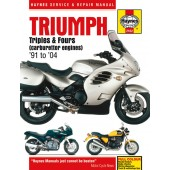 Haynes Triumph Triples and Fours (carburettor engines) (91 - 04)
