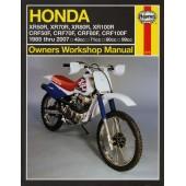Haynes Honda XR50/70/80/100R & CRF50/70/80/100F (85 - 07)