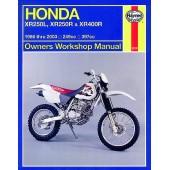 Haynes Honda XR250L, XR250R & XR400R (86 - 03)