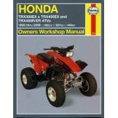 Haynes Honda TRX300EX, TRX400EX & TRX450R/ER ATVs (93 - 06)