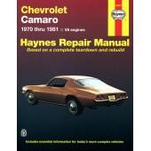 Haynes Chevrolet Camaro (70 - 81)
