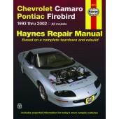 Haynes Chevrolet Camaro & Pontiac Firebird (93 - 02)