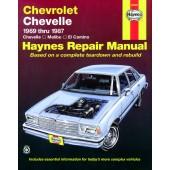 Haynes Chevrolet Chevelle, Malibu & El Camino (69 - 87)