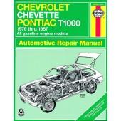Haynes Chevrolet Chevette & Pontiac T1000 (76 - 87)
