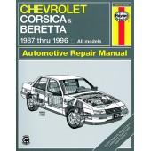 Haynes Chevrolet Corsica/Beretta (87 - 96)