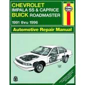 Haynes Chevrolet Impala SS & Caprice and Buick Roadmaster (91 - 96)