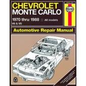 Haynes Chevrolet Monte Carlo (70 - 88)