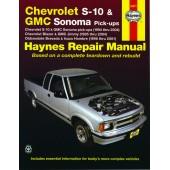 Haynes Chevrolet S-10 & GMC Sonoma Pick-Ups 94