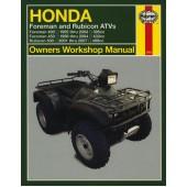 Haynes manual: Honda Foreman and Rubicon ATVs (95-07)