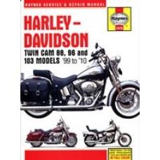Haynes manual: Harley-Davidson Twin Cam 88 & 96 Models (99-08)