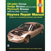 Haynes manual: Chrysler Cirrus, Dodge Stratus and Plymouth Breeze (95-00)
