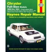 Haynes Chrysler Full-Size Front-wheel drive (88 - 93)