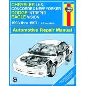 Haynes Chrysler New Yorker, Concorde & LHS, Dodge Intrepid and Eagle Vision (93 - 97)