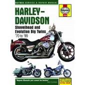 Haynes manual: Harley-Davidson Shovelhead and Evolution Big Twins (70-99)