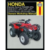 Haynes Honda Rancher, Recon & TRX250EX ATVs (97 - 09)