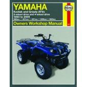Haynes Yamaha Kodiak and Grizzly ATVs (93 - 05)