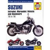 Haynes manual: Suzuki Intruder, Marauder, Volusia & Boulevard (85-06)