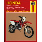 Haynes Honda CRF250 & CRF450 (02 - 06)