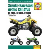 Haynes Suzuki/Kawasaki Arctic Cat ATVs (03 - 09)