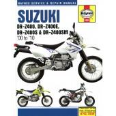 Haynes Suzuki DR-Z400, DR-Z400E, DR-Z400S & DR-Z400SM ('00 to '10)