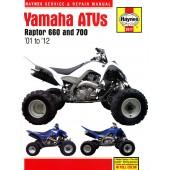 Haynes Yamaha Raptor 660 & 700 ATVs (01 - 12)