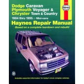 Haynes manual: Dodge Caravan, Plymouth Voyager and Chrysler Town and Country Mini-Vans (84-95)