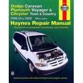 Haynes manual: Dodge Caravan, Plymouth Voyager and Chrysler Town and Country Mini-vans (96-02)