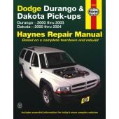 Haynes Dodge Durango & Dakota 00-04