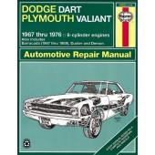 Haynes Dodge Dart & Plymouth Valiant (67 - 76)