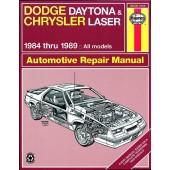 Haynes Dodge Daytona & Chrysler Laser (84 - 89)