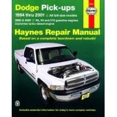 Haynes manual: Dodge Pick-ups (94-01)