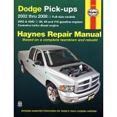 Haynes Dodge Pick-ups 2002 to 2008
