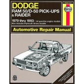 Haynes Dodge Ram 50/D50 Pick-up & Raider and Plymouth Arrow Pick-up (79 - 93)