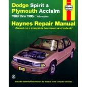 Haynes Dodge Spirit & Plymouth Acclaim (89 - 95)