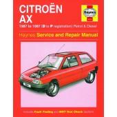 Haynes manual: Citroen AX Petrol and Diesel (87-97) D to P