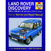 Haynes manual: Land Rover Discovery Petrol and Diesel (89-98) G to S