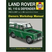 Haynes manual: Land Rover 90, 110 & Defender Diesel (83-07) up to 56 reg.